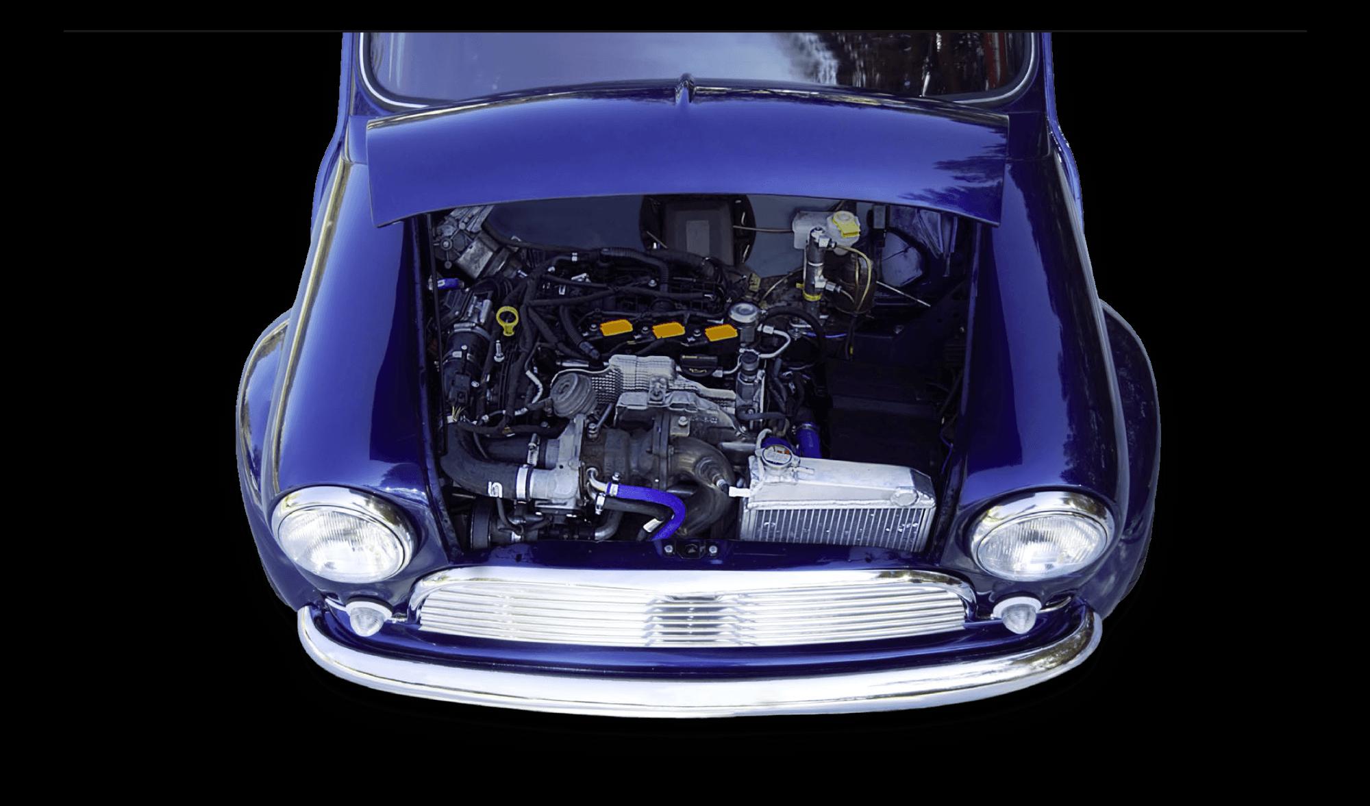 Mini motor ecoboost pandora
